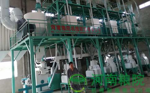 河南粮院木薯粉加工设备