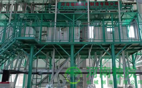 河南粮院石磨面粉机